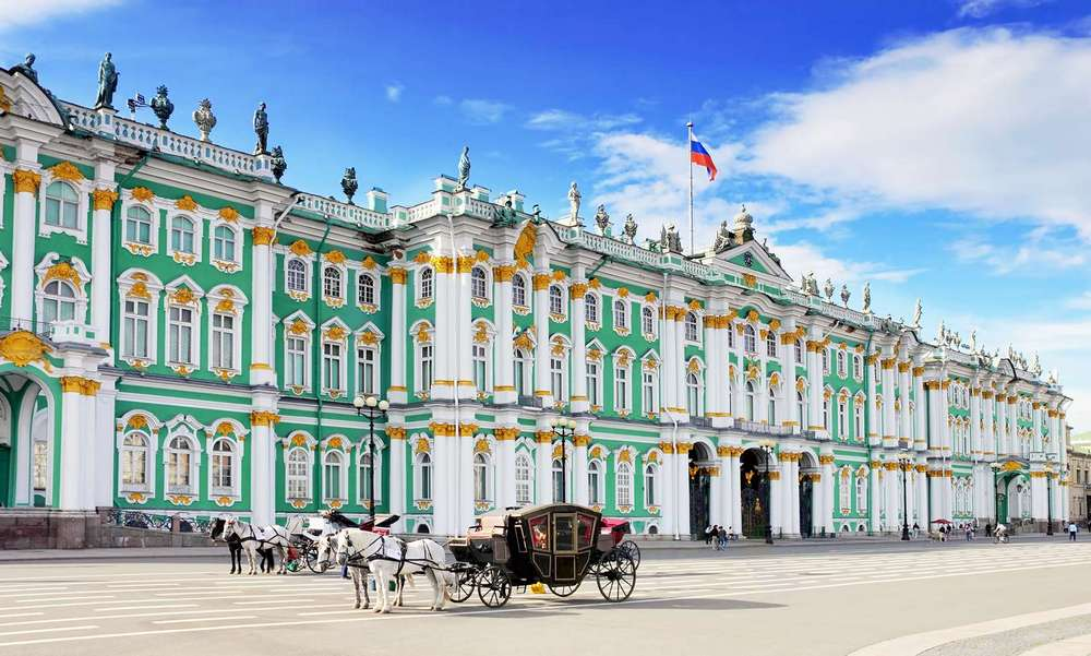 City Introductory Tour. The Hermitage Museum.