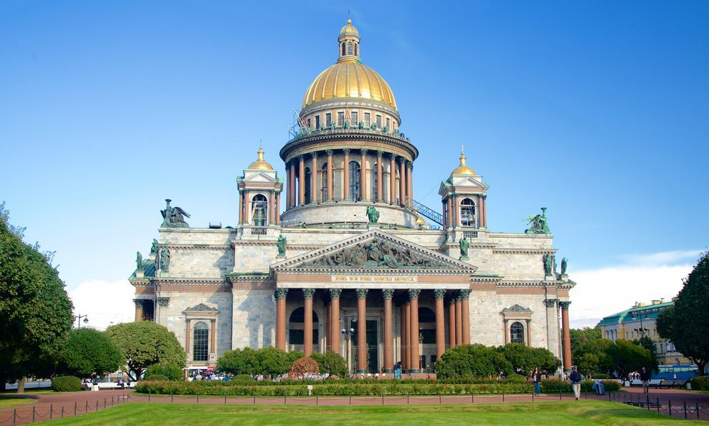 St. Petersburg City Introductory Tour. The Hermitage.