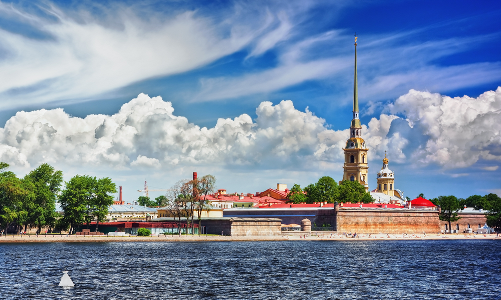 St. Petersburg City Introductory Tour.